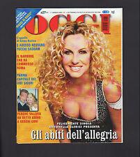 OGGI 1/2004 SADDAM HUSSEIN VALERIA MARINI ZANARDI ANNA FALCHI EVA KANT BARDOT
