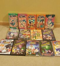 Sonic the Hedgehog TV and movie collection