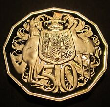 1987 Australia PROOF 50 Fifty Cent #987-50-01