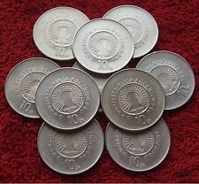 POLAND SET OF COINS 10 ZL 25 ANNIVERSARY PRL 1969 YEAR !!! ONE PIECE LOT 1 PC
