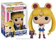 Funko POP! Sailor Moon w/ Luna - Stylized Anime Manga Vinyl Figure 89 NEW