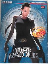 Lara Croft Tomb Raider  3 DVD+ Poster - Angelina Jolie, Daniel Craig, Jan Voight