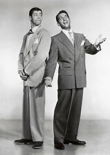 Dean Martin and Jerry Lewis BW POSTER