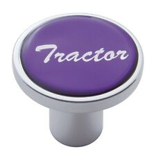 knob tractor screw on purple glossy sticker for Kenworth Peterbilt Freightliner
