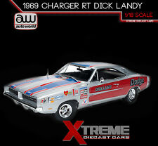 AUTOWORLD AW228 1:18 1969 DODGE CHARGER R/T DICK LANDY NHRA