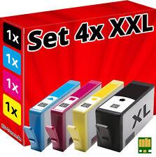 4x CHIP PATRONEN für HP-364-XL B010A B109a B109n B110a B110c B209a B209b B210a