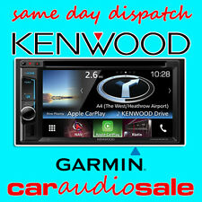 KENWOOD DNX-5160BTS 6.2' BLUETOOTH GARMIN SAT NAV USB AUX CAR PLAY STEREO SCREEN
