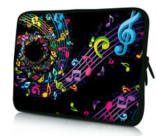 "Music Note Sleeve Bag Laptop Case For 11.6"" 12.1"" 12"" Computer Notebook Cover"