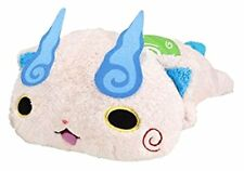 New! Yokai Watch Soft Lying Komasan Plush Doll Stuffed Japan F/S