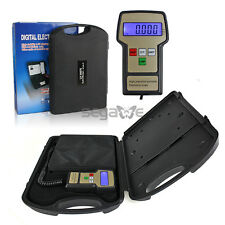 220LB Digital HVAC A/C Refrigerant Freon Charging Recovery Weight Scale w/ Case