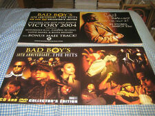 BAD BOY'S-(10th anniversary-the hits)-1 POSTER FLAT-2 SIDED-12X24-NMINT-RARE