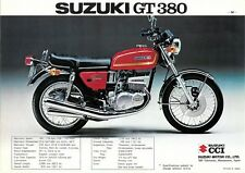 SUZUKI GT380 SEAT COVER & STRAP BEST QUALITY YOU CAN BUY