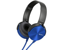 SONY MDR-XB450 HEADPHONES+EXTRA BASS+30MM DRIVERS+SWIVEL FOLDING+SERRATION CORD