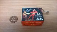 Giuseppe Verdi-Rigoletto-La Donna e Mobile - Hand-cranked Music Box by Fridolin
