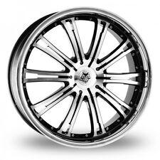 """4 x 20"""" Wolf Design Wolf Design Vermont Black Polished Alloy Wheels  - WBA3088"""