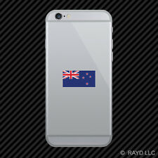 New Zealand Flag Cell Phone Sticker Mobile Die Cut kiwi