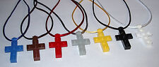 20 LEGO CROSS NECKLACE RELIGIOUS PARTY FAVOR SUNDAY BIBLE CHURCH SCHOOL GIFT BAG