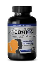 May Prevent Baldness Pills - Anti Gray Hair Solution 1500mg - Saw Palmetto 1B