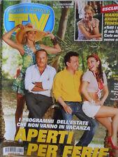 TV Sorrisi e Canzoni n°29 2008 Melita Toniolo Elena Santarelli Pupo [D13]