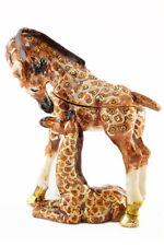 Giraffe Baby Jewelry Trinket Box Decorative Collectible Animal Cute Gift 02104