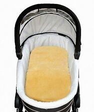 Baby Lammfell Einlagen für Tragetasche, Kinderwagen, waschbar, ca. 73x33 cm