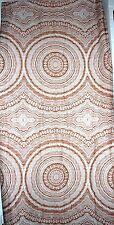 Zucchi Stoff Liric rost orange 200x280cm Retro Design Baumwoll Qualität