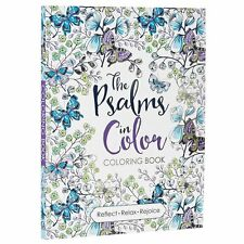 """The Psalms in Color"" Inspirational Adult by Christian Art Publishers[Paperback]"