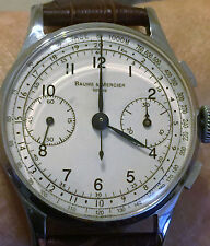 Vintage BAUME et MERCIER Chronograph -  Landeron Cal. 48 interduced in the '50s