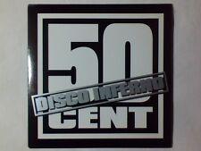 50 CENT Disco inferno cd singolo PR0M0 RARISSIMO 4 TRACKS