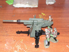 DINKY WWII GERMAN 88 GUN 1:32 SCALE WITH THREE FIGURE CREW - MADE IN ENGLAND