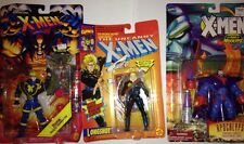 Vintage Havok, Longshot and Apocalypse Xmen Action Figures by TOYBIZ