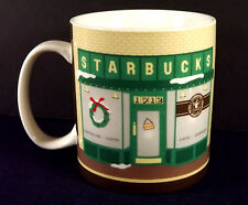 Pike Place Starbucks Coffee Large Mug Cup 2007 Japan Porcelain Collector Series