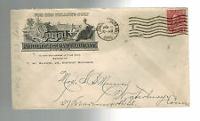 1915 London ONT Canada Royal Insurance Company Advertising Cover  to USA
