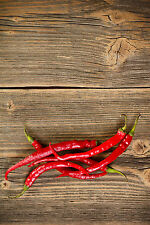 350mg Organic Sweet Cayenne Hot Pepper Seeds ~ 50 Ct Fiery Red Fruits Spicy USA