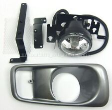 Bumper Cover Grille & Fog Light Driving Lamp Right RH Side Fits Honda Civic 98-