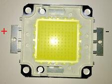 Led chip de 100w Blanco + cinta térmica adhesiva