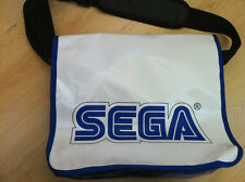 SEGA Official Travel Carrying Shoulder White Vinyl Messenger Bag
