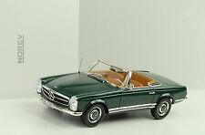 1963 Mercedes-Benz 230 SL w113 pagode VERDE SCURO 1:18 NOREV 183506