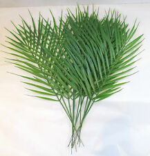 Pack of 12 Artificial Palm leaves 45cm - Plastic fern / cycas /