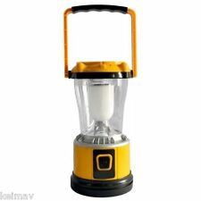 Multi-function Solar Powered LED Camping Light (Yellow)