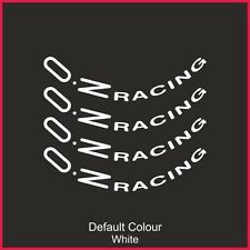 "Oz Racing Wheel Decals 19"" X8,Vinyl, Sticker, Graphics,Car, Wheels, N2142"