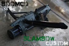 BOOMCO SLAMBOW PROP GUN, New - Custom Painted OD for COD / Halo Cosplay
