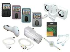 12 Item Accessory Bundle Combo Kit Set for Creative Zen Vision M 30GB MP3 Player
