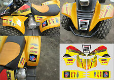 Kazuma Meerkat 50 graphics stickers decals name & number chinese quad 50cc