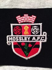 MOSSLEY AFC FOOTBALL (SOCCER) CLUB NORTHERN PREMIER LEAGUE VINTAGE PATCH - NEW!!