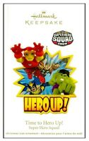 2011 Hallmark Marvel Super Hero Squad Time to Hero Up Ornament!