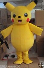 New Hot sale!!  LOVELY Pikachu Adult Mascot Costume suit for any size 2016