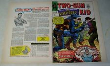 TWO GUN KID #79 original approval cover proof, 1960's MARVEL, COVER ART!!