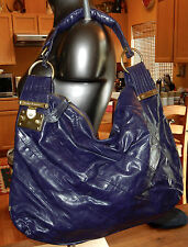 JUICY COUTURE Purple HOBO STYLE Shoulder FAUX LEATHER BAG - New w/o Tags