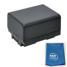 3000mAh BP-727 Decoded Battery for Canon VIXIA HF R72 HF R70 HF R700 R300 R400